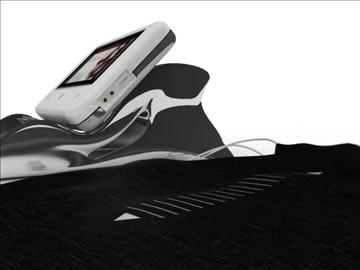 portable media player 3d model max 92638