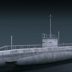 AE2 Australia Submarine ( 406.84KB jpg by ShaderCG )