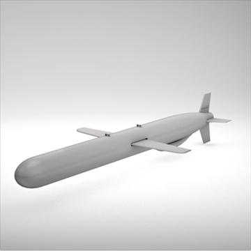 bgm-109 tomahawk cruise missile 3d model 3ds dxf fbx c4d x obj 88945