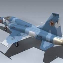 F 5E Tiger II (Red 05) ( 47.33KB jpg by Mesh_Factory )
