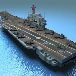 Liaoning Aircraft Carrier ( 330.54KB jpg by GMichael )