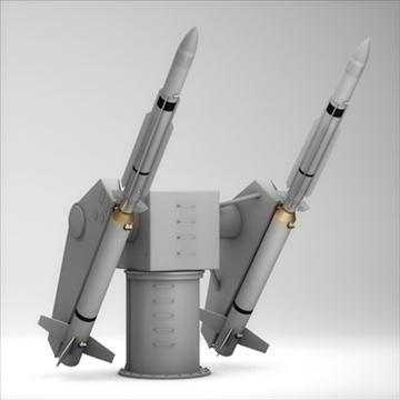 pocisk wystrzeliwujący wieżę sm-2 3d model 3ds dxf fbx c4d x obj 88902
