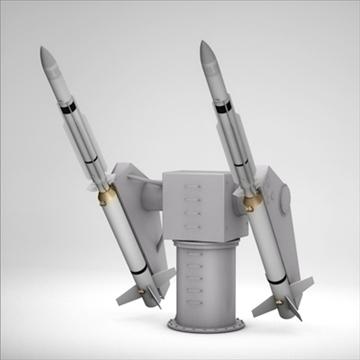 sm-2 missile launching turret 3d model 3ds dxf fbx c4d x obj 88906