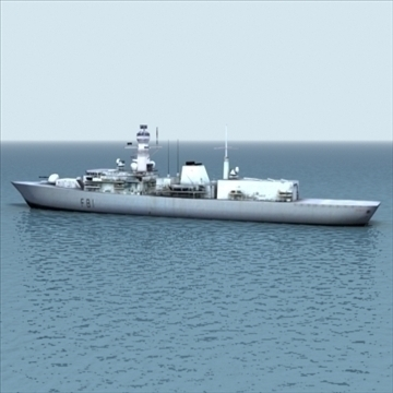 Type23_frigate_rn_3dgame