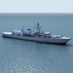 Type23_Frigate_RN_3DGamemodel ( 81.96KB jpg by 3DArtisan )