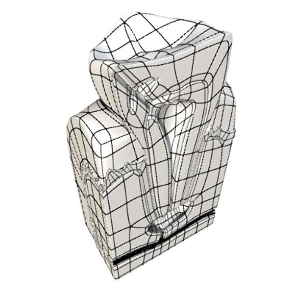 çənə diş 3d modeli 3ds max fbx obj 130014