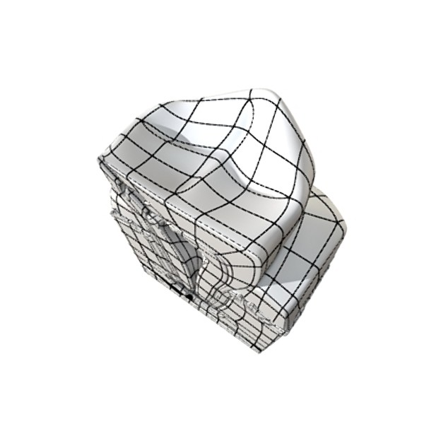 çənə diş 3d modeli 3ds max fbx obj 130016