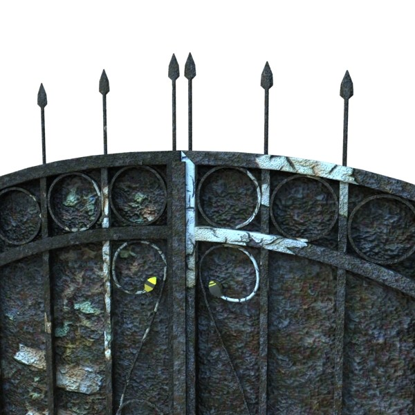 iron gate collection 3d model max fbx 132033
