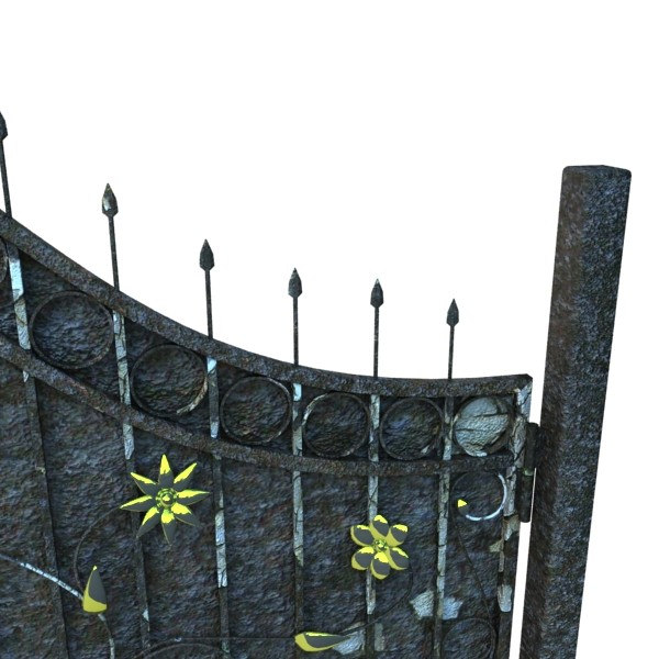 iron gate collection 3d model max fbx 132034