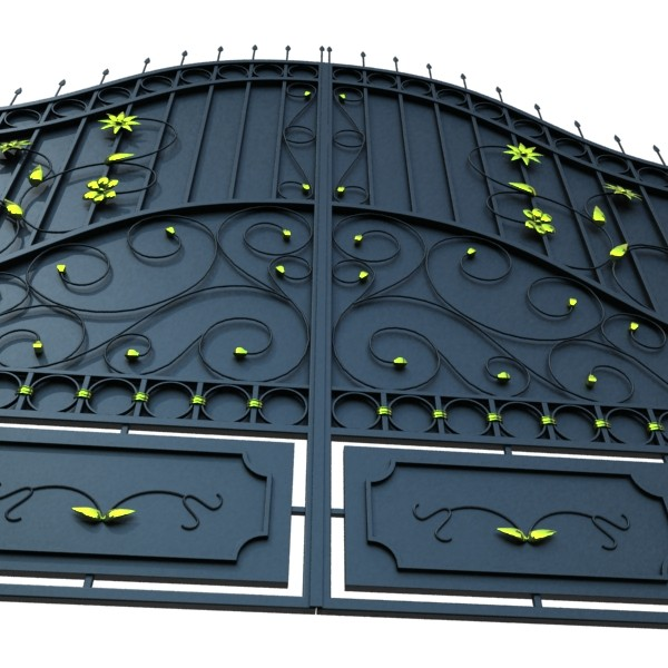 iron gate collection 3d model max fbx 132039