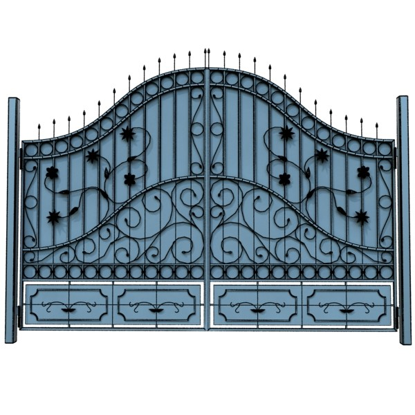 iron gate collection 3d model max fbx 132040