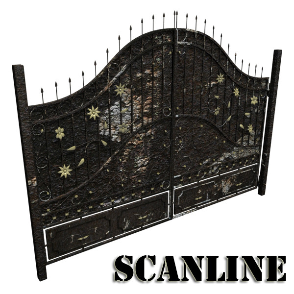 iron gate collection 3d model max fbx 132045