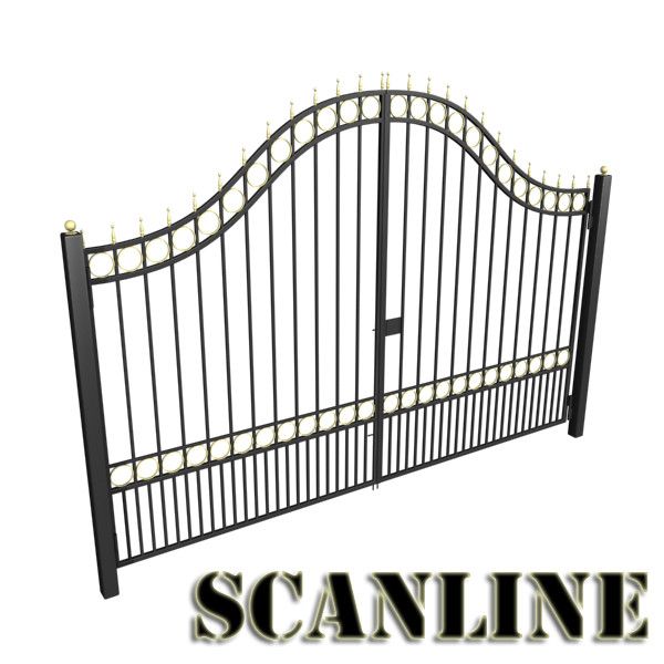 iron gate collection 3d model max fbx 132064