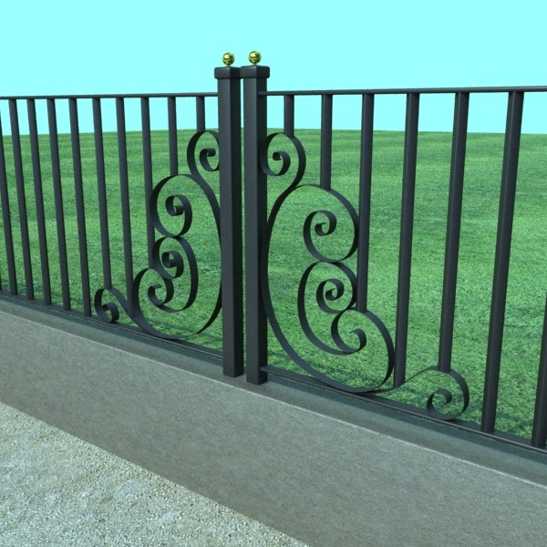 iron gate collection 3d model max fbx 132071
