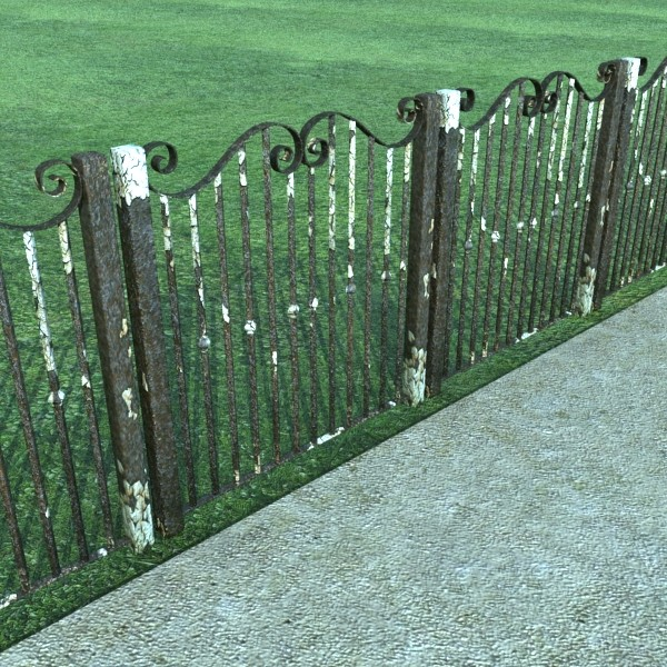 iron gate collection 3d model max fbx 132080