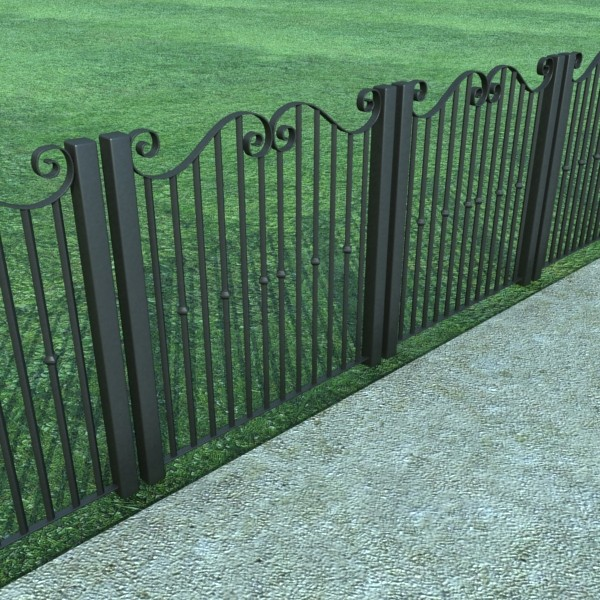 iron gate collection 3d model max fbx 132082