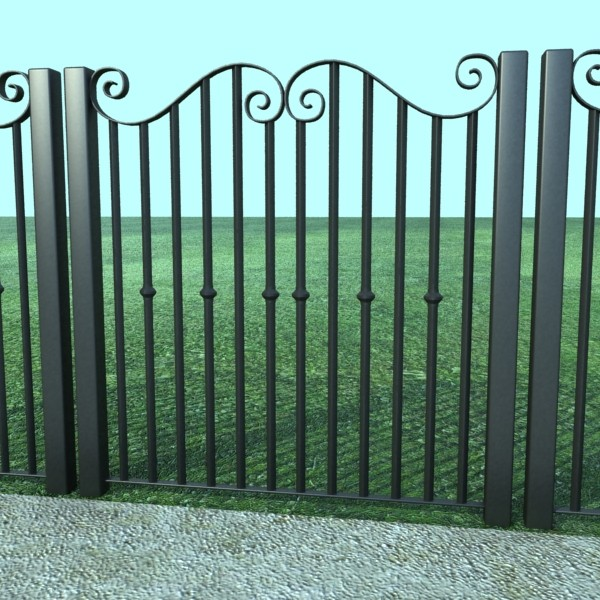 iron gate collection 3d model max fbx 132083