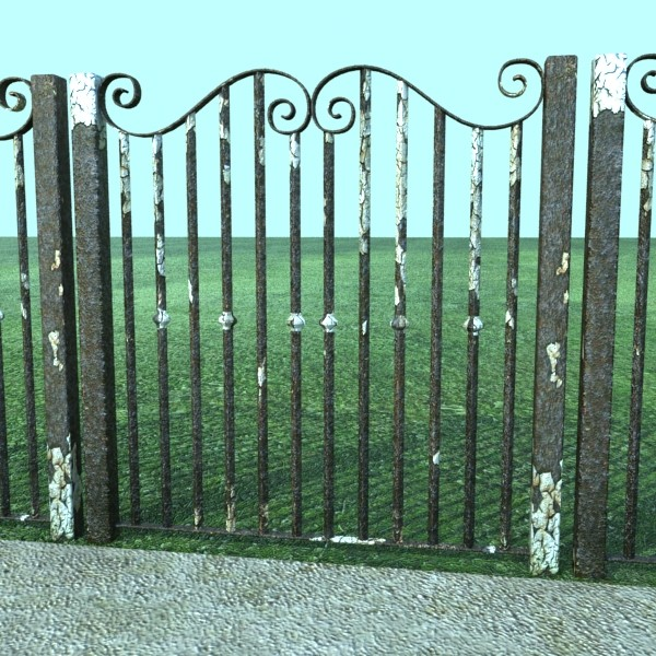 iron gate collection 3d model max fbx 132084