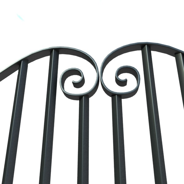 iron gate collection 3d model max fbx 132087