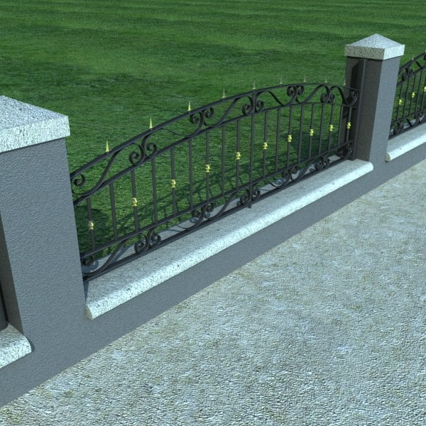 iron gate collection 3d model max fbx 132095