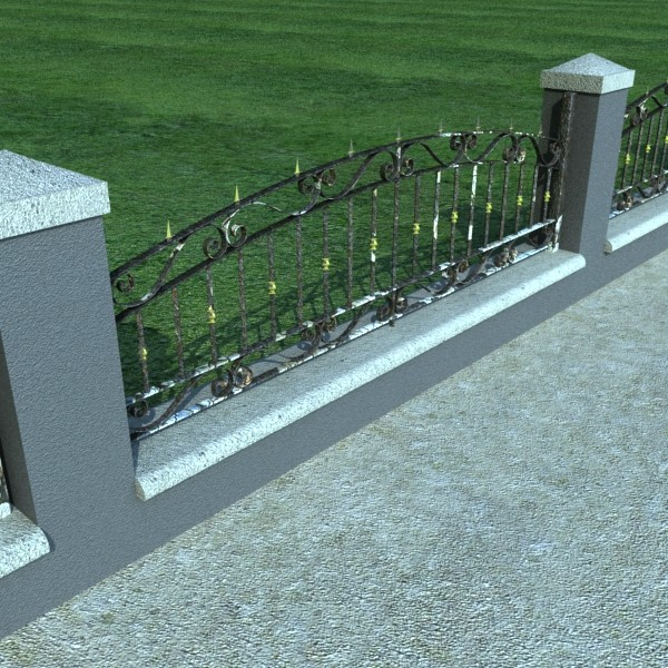 iron gate collection 3d model max fbx 132097