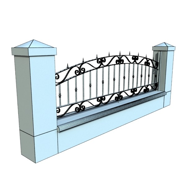 iron gate collection 3d model max fbx 132104
