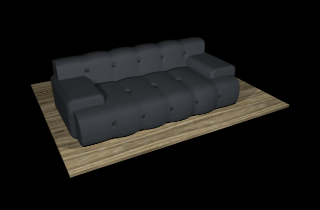 sofa roche bobois 3d model 3ds dxf c4d jpeg jpg 148117