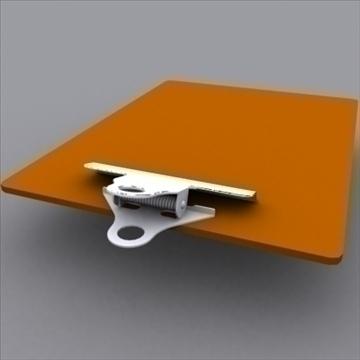 board clip 02 3d model 3ds max 97987