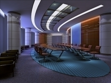 boardroom 004 3d model 3ds max 83003