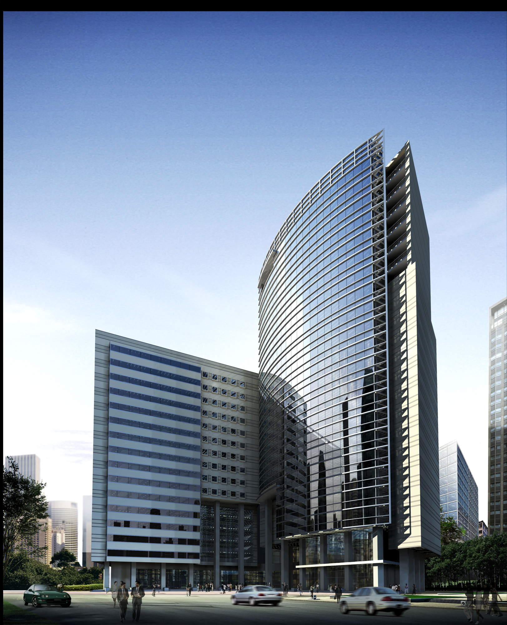 عمارت 055 3D ماڈل زیادہ سے زیادہ 133552