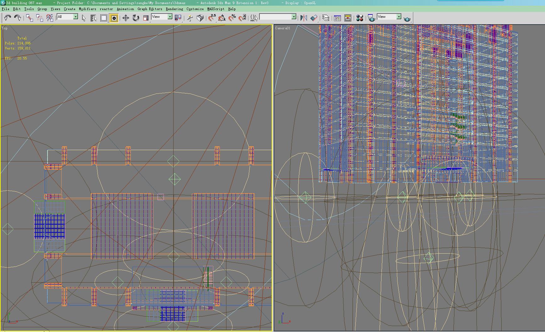 building 067 3d model max 133578