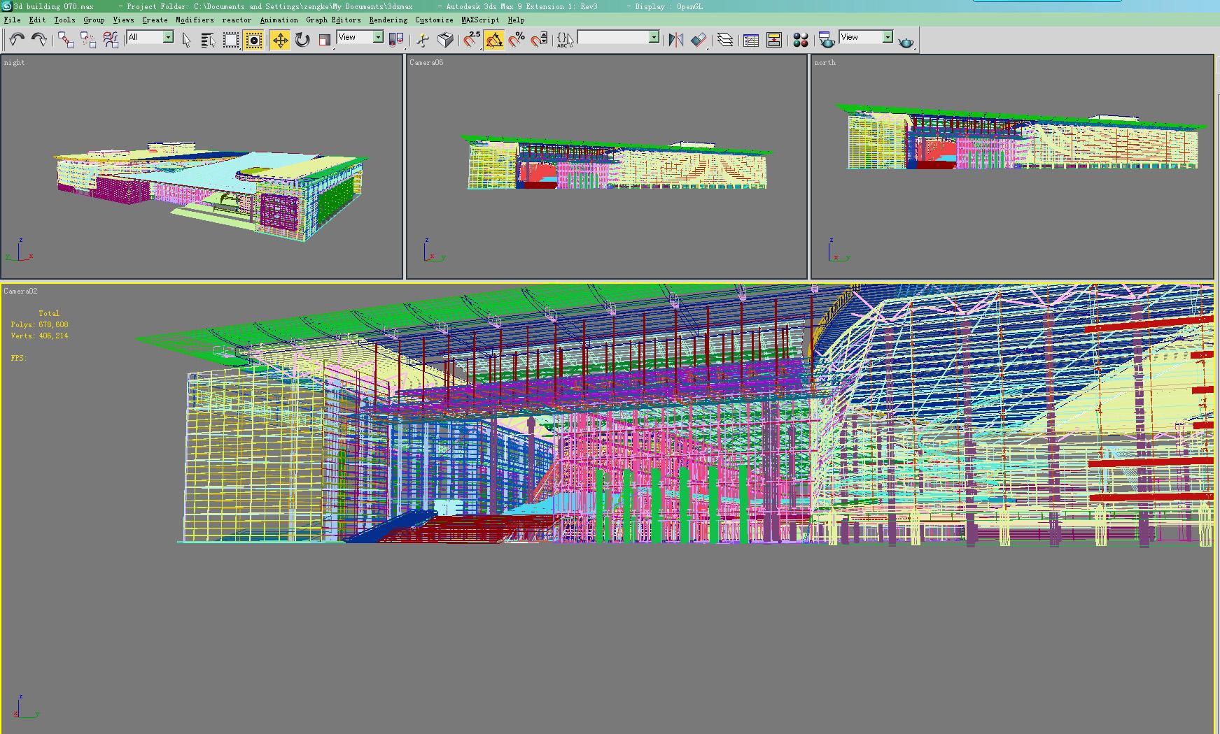 building 070 3d model max 133596