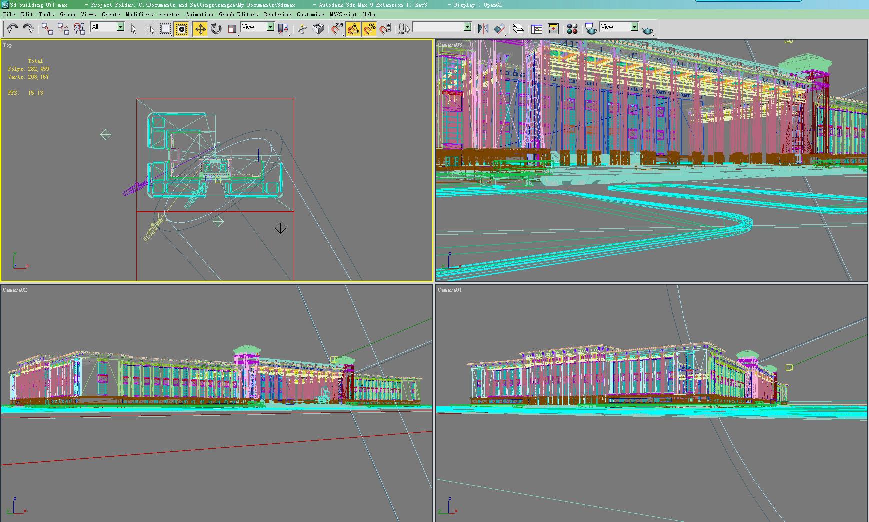 building 071 3d model max 133601