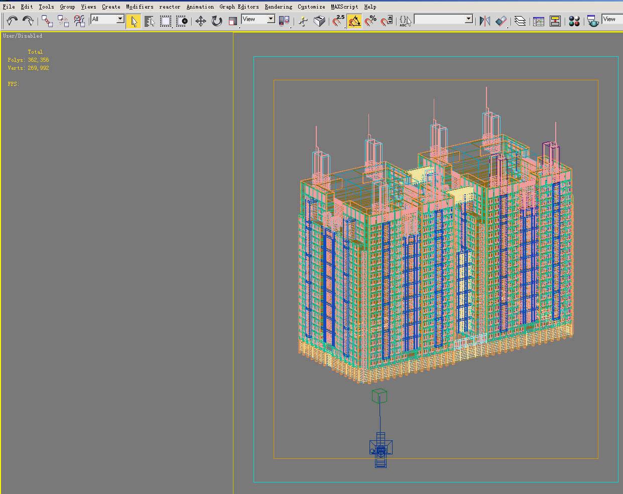 building 078 3d model max 133615
