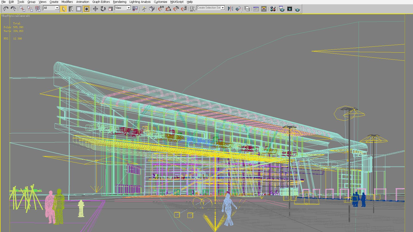 building 120 3d model max 133426