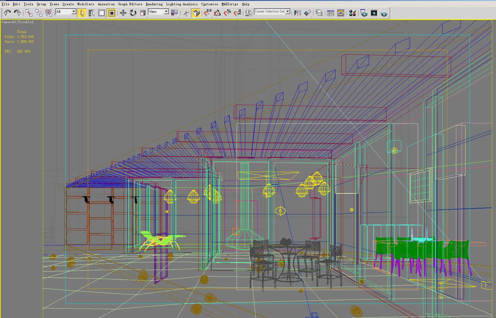 building 121 3d model max 133424