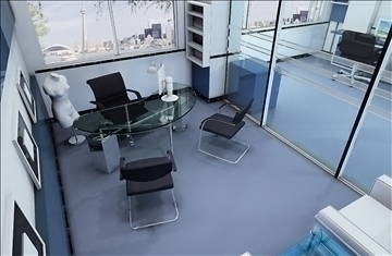 office 004 3d model 3ds max 108962