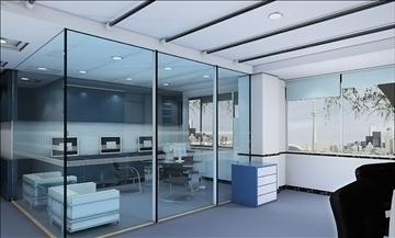 office 004 3d model 3ds max 108963