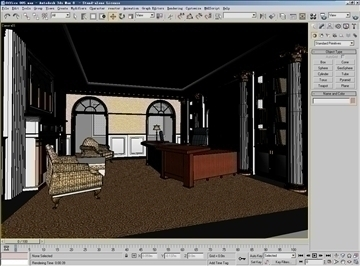 office 005 3d model 3ds max 108965