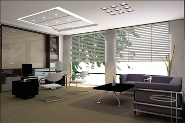 office 009 3d model 3ds max 83037