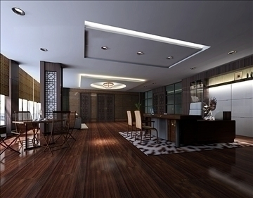 office 042 3d model 3ds max 90280