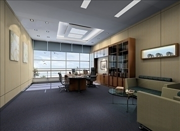 office 043 3d model 3ds max 90282