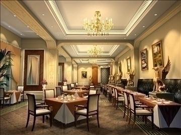 ресторан 033 3d загвар max 90288