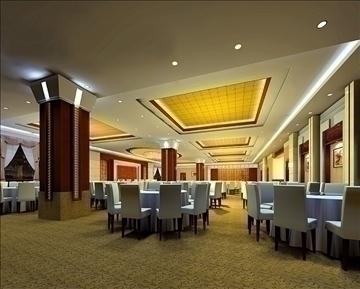 ресторан 035 3d загвар 3ds max 90294