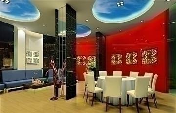 ресторан 039 3d загвар 3ds max 90303