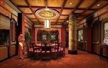 ресторан 040 3d загвар 3ds max 90305