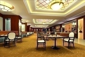 рестораны дотоод засал 038 3d загвар 3ds max 90301