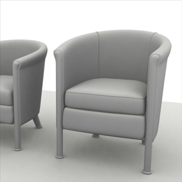 sofa pack 1 3d model 3ds max obj 80350