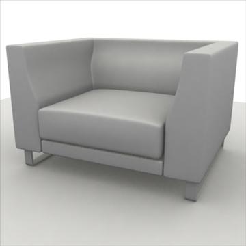 sofa pack 1 3d model 3ds max obj 80351