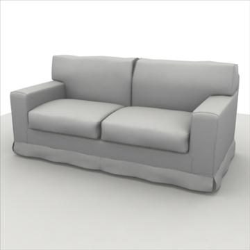 sofa pack 1 3d model 3ds max obj 80352